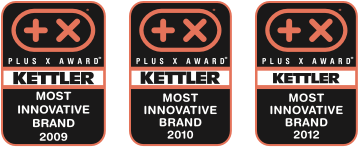 Plus X Awards - Most innovative brand 2009, 2010, 2012
